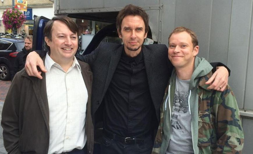 David Mitchell and Robert Webb get emotional as filming wraps on Peep Show series 9